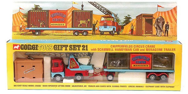 "4119: Corgi No.GS21 ""Chipperfield Circus"" Gift Set"