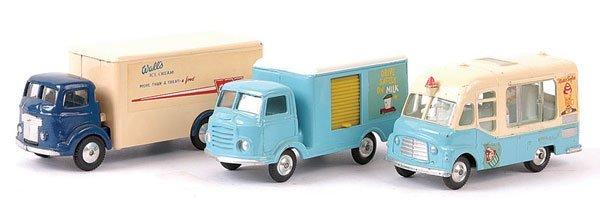 "4147: Corgi Commer Truck ""Walls Ice-Cream"" & Others"