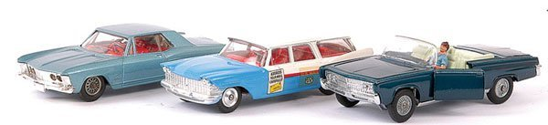 4149: Corgi - A Group of 3 American Cars