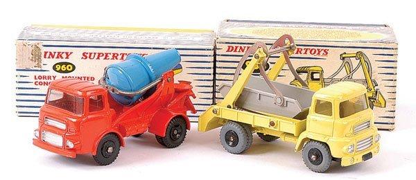 4155: Dinky - A Pair of Albion Lorries