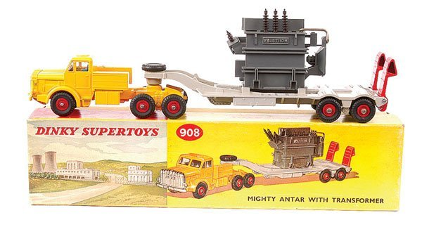 4163: Dinky No.908 Mighty Antar with Transformer