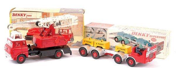 4166: Dinky Leyland Chassis and Jones Crane