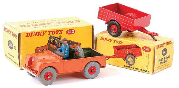 4167: Dinky Later Land Rover and Trailer