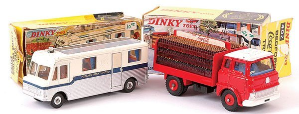 4168: Dinky Bedford Truck and Midland Bank