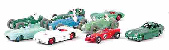 4245: Dinky - A Group of Racing Cars