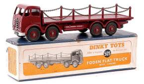 4473: Dinky No.505 Foden Flat Truck with Chains