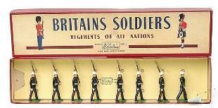 Britains-Set35-Royal Marines [Post war version]