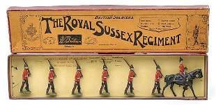 Britains-Set36-Royal Sussex Rgt [1937-41 version]