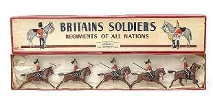 Britains-Set44-2nd Dragoon Gds[Post War version]