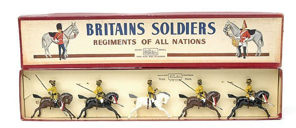 1012: Britains-Set47-Skinners Horse [Post War version]