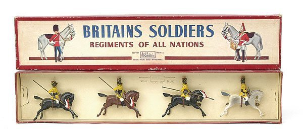 1013: Britains-Set47-Skinners Horse [1960 issue]