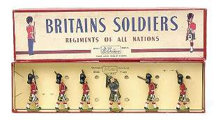 Britains-Set77-Gordon Highlanders [Post War]