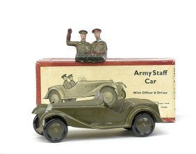 Britains-Set1448-Army Staff Car [early Post War]