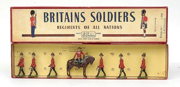 1098: Britains-Set1554-R.C.M.P. [1953 Version]