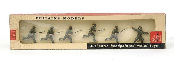1100: Britains-Set1613-British Inf in Action [1960]