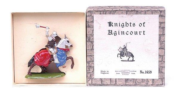 1105: Britains-Set1659-Knights of Agincourt [1954]