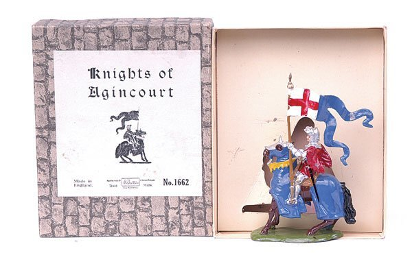 1106: Britains-Set1662-Knights of Agincourt [1954]