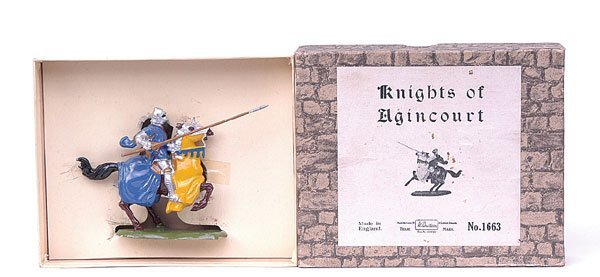 1107: Britains-Set1663-Knights of Agincourt [1954]