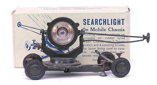 1110: Britains-Set1718-Searchlight [1947 Version]