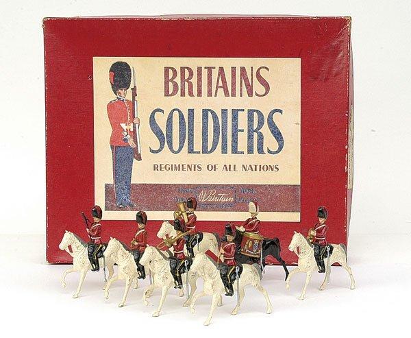 1111: Britains-Set1720-Band - Scots Greys [Post War]
