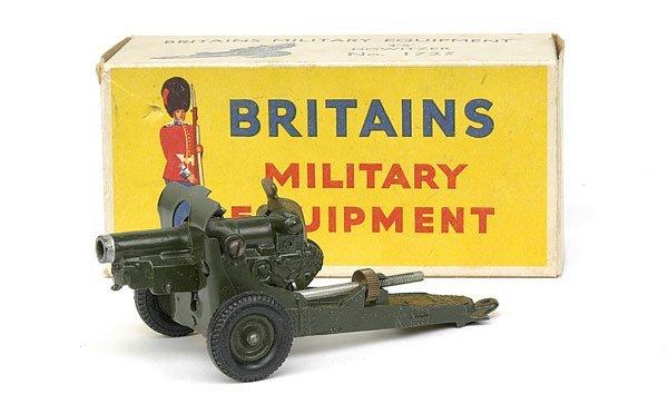 """1112: Britains-Set1725-4.5"""" Howitzer [Post War Version]"""