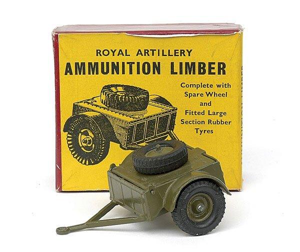 1113: Britains-Set1726-R.A.Ammo Limber [Post War]
