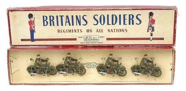 1116: Britains-Set1791-M/C Despatch Riders [1939-41]