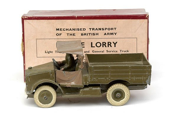 1120: Britains-Set1877-Beetle Lorry [1940-41 issue]