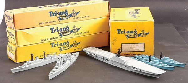 1007: Triang Minic Ships - A Collection of Warships