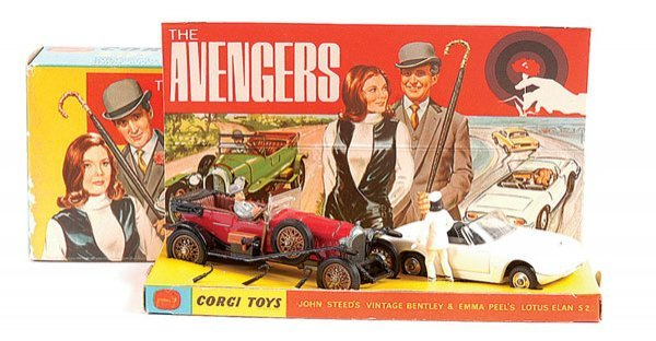 "1023: Corgi No.GS40 ""The Avengers"" Gift Set"