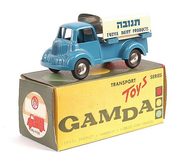 "1402: Gamda (Delivery Truck ""Tnuva Dairy Products"""