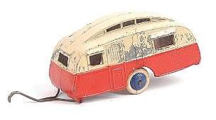 1464: Dinky Pre-war No.30G Caravan Trailer
