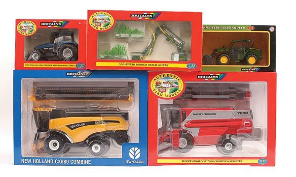 2006: Britains - A Group of Recent Issue Tractors