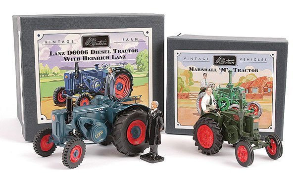 2007: Britains No.00315 Lanz Bulldog Tractor & Others