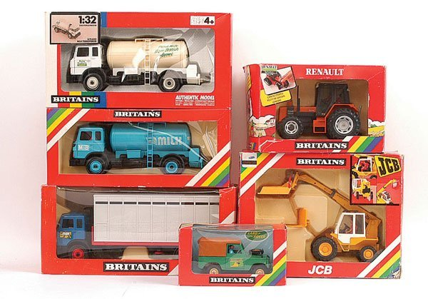 2010: Britains - A Group of Farm Vehicles