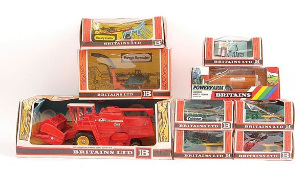 2011: Britains - A Group of Farm Implements