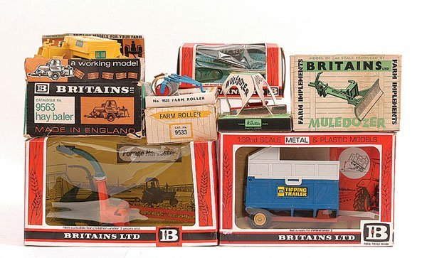 2012: Britains - A Group of Farm Implements