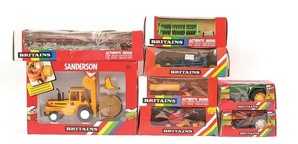 2014: Britains - A Group of Farm Vehicles & Implements