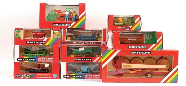 2015: Britains - A Group of Farm Implements