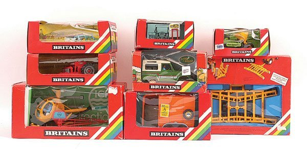 2020: Britains - A Group of Farm Vehicles & Implements