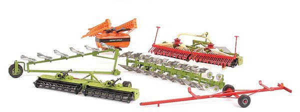 2021: Reworked & Modified Britains Farm Implements