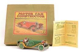2093 Meccano No2 Motor Car Construction Kit