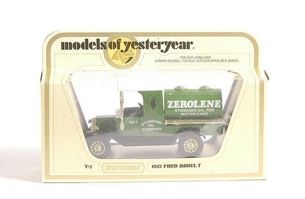 "4: Matchbox MOY Y3 1912 Ford Model T ""Zerolene"""