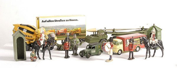 5: Dinky Unboxed Missile Erector Vehicle & Others