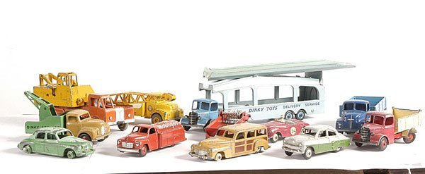 6: Dinky - A Group of 12 x Unboxed