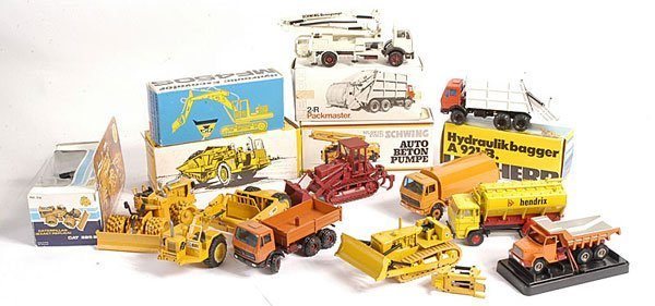 14: NZG, Conrad and Others Construction Equipment
