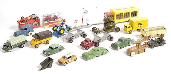 15: Miscellaneous Diecast, Lead and Rubber Vehicles