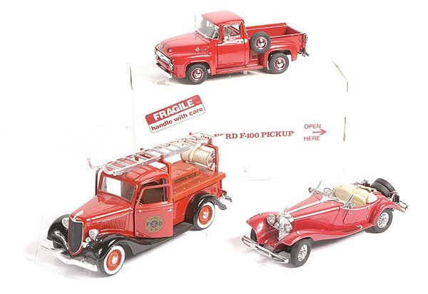 16: Danbury Mint 1956 Ford F100 Pick-up & Others