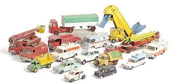 29: Dinky Toys - A Group of Unboxed Commercials