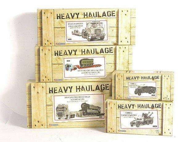 154: Corgi Heavy Haulage - 1/50th scale models